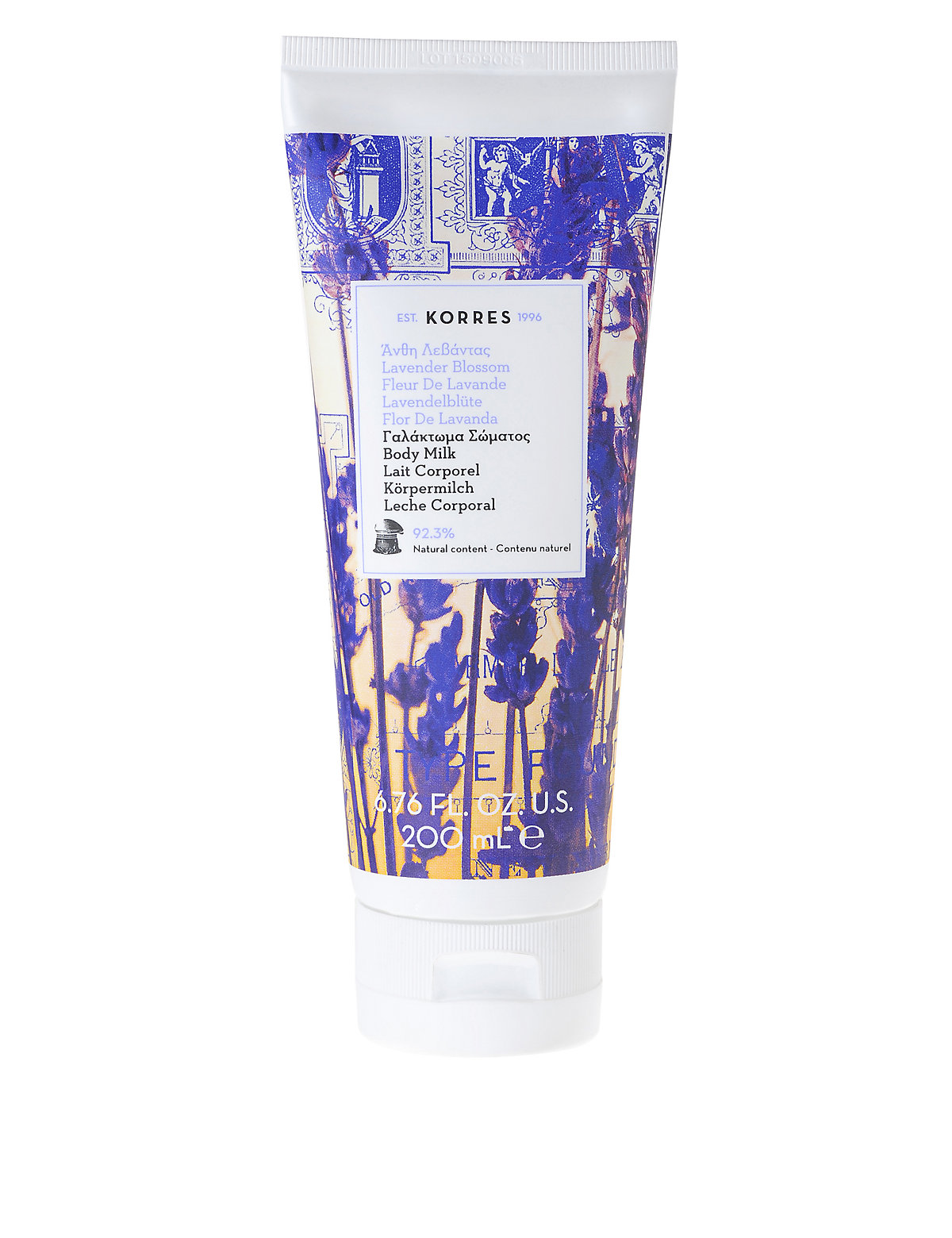Korres Lavender Blossom Body Milk 200ml