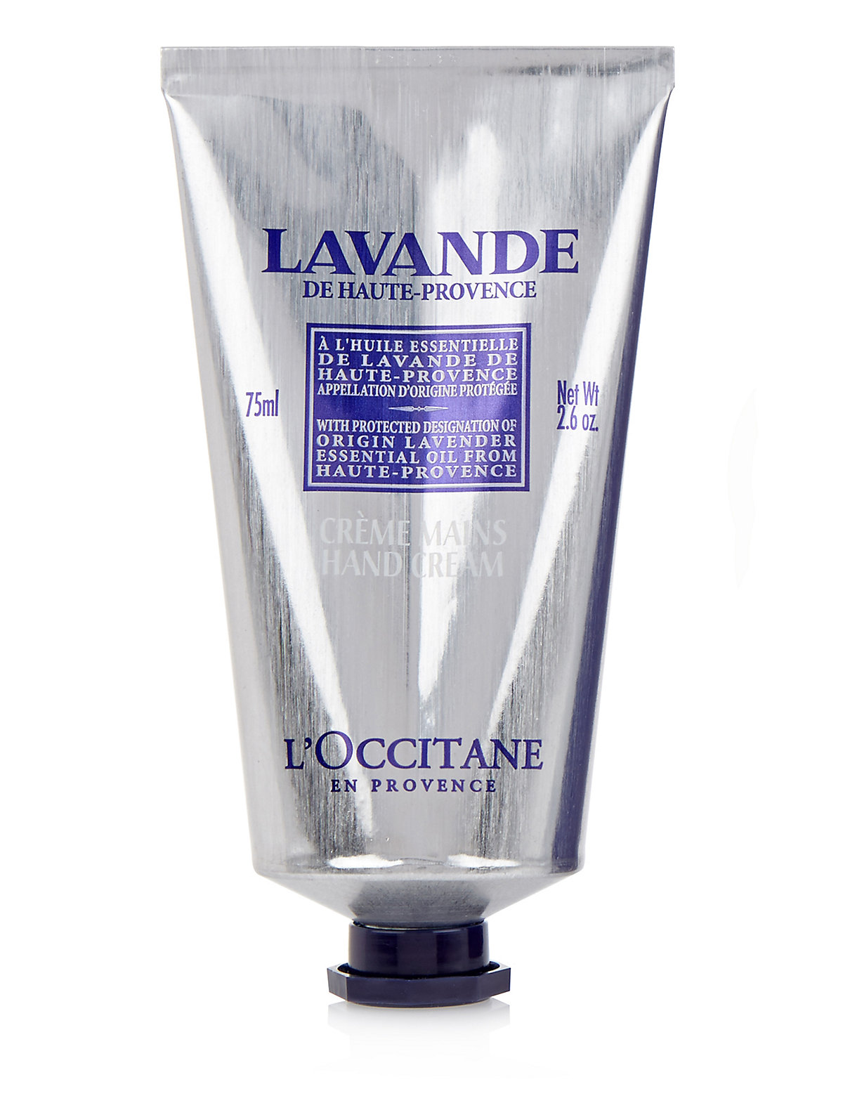l 39 occitane lavender hand cream 75ml gay times uk. Black Bedroom Furniture Sets. Home Design Ideas