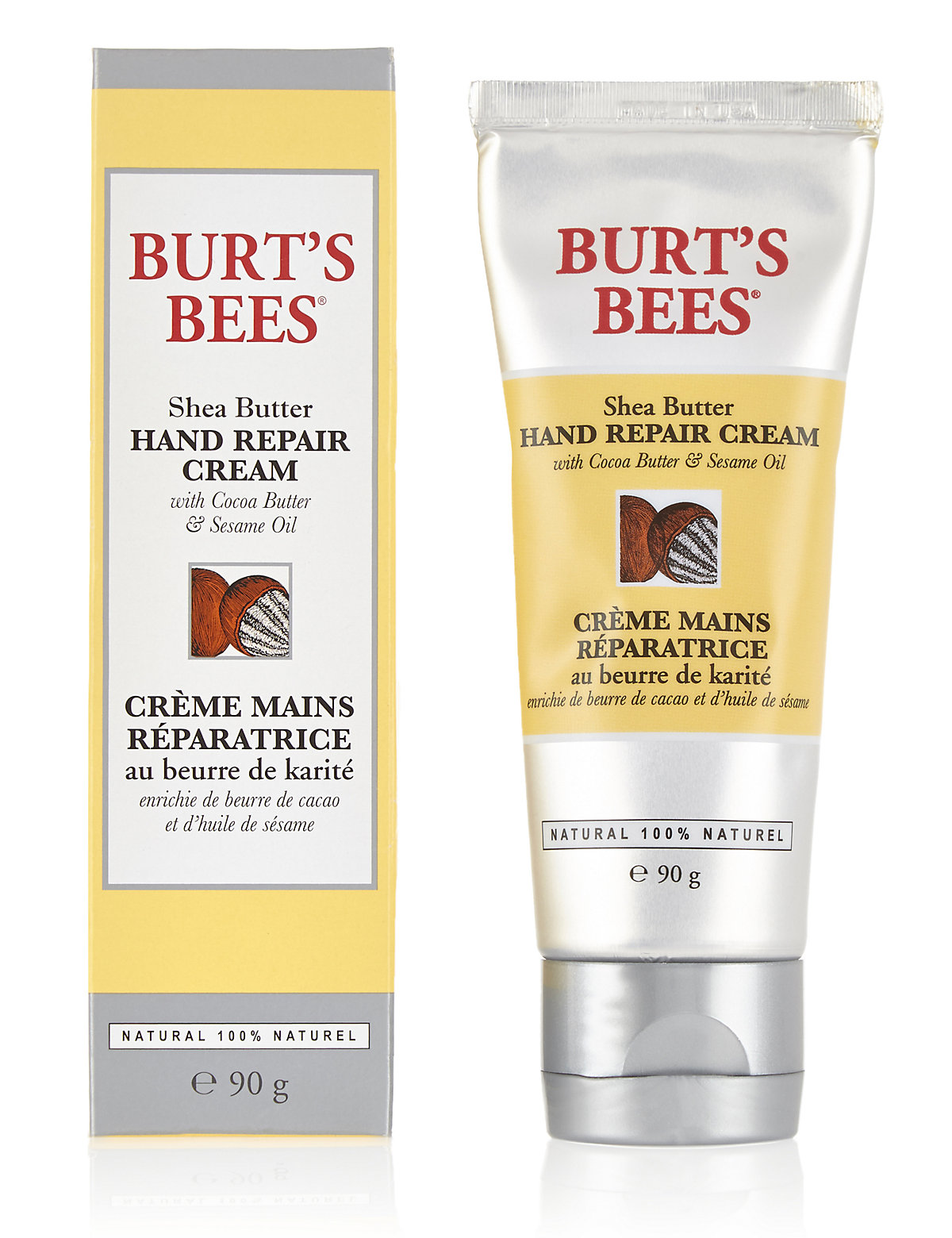 Burts Bees Shea Butter Hand Repair Cream 90g