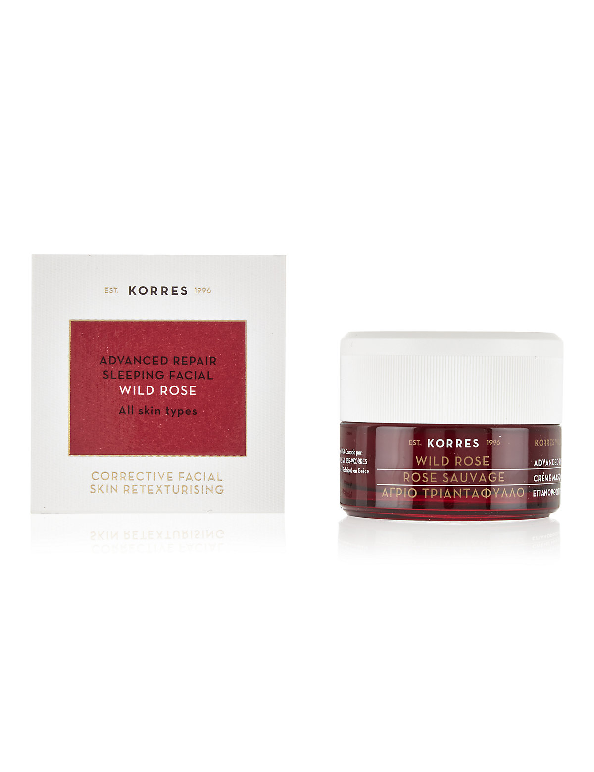 Korres Wild Rose Sleeping Facial Cream 40ml