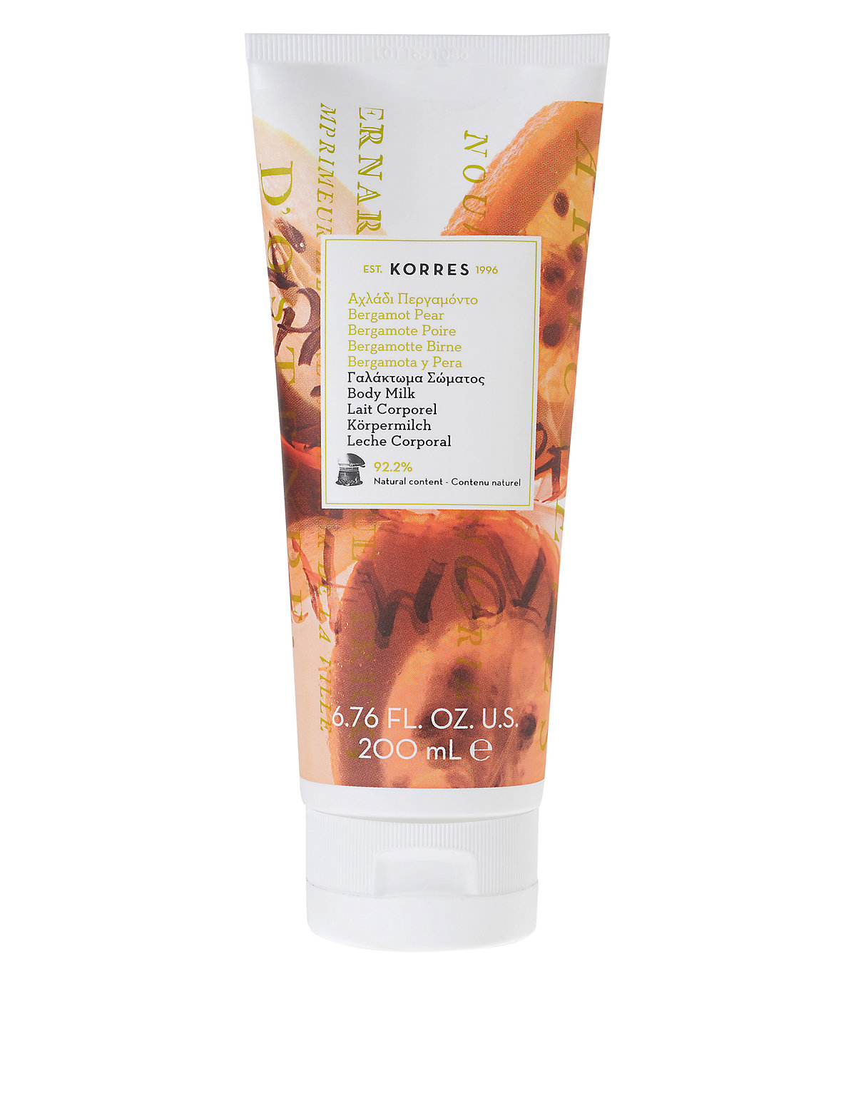 Korres Bergamot Pear Body Milk 200ml