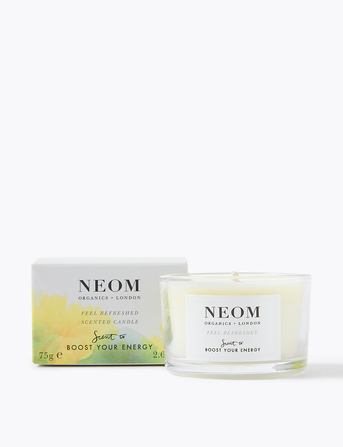 Neom Feel Refreshed Candle (Travel) 75g