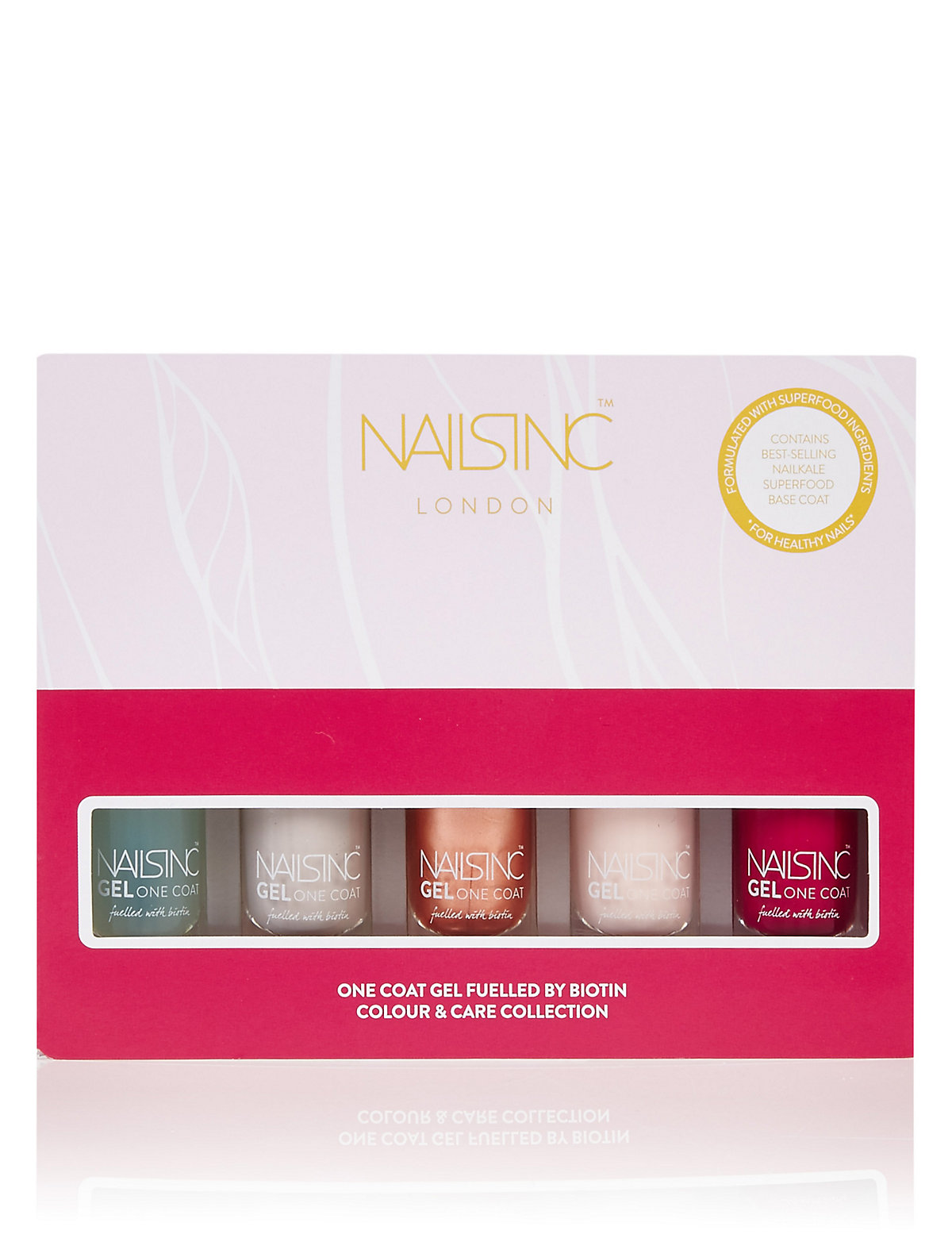 Nails Inc. One Coat Gel Colour & Care Collection