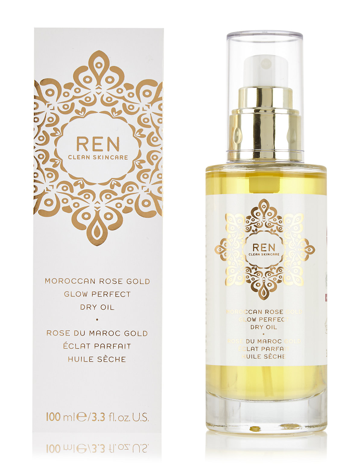 Moroccan Rose Gold Glow Perfect Dry Oil 100ml