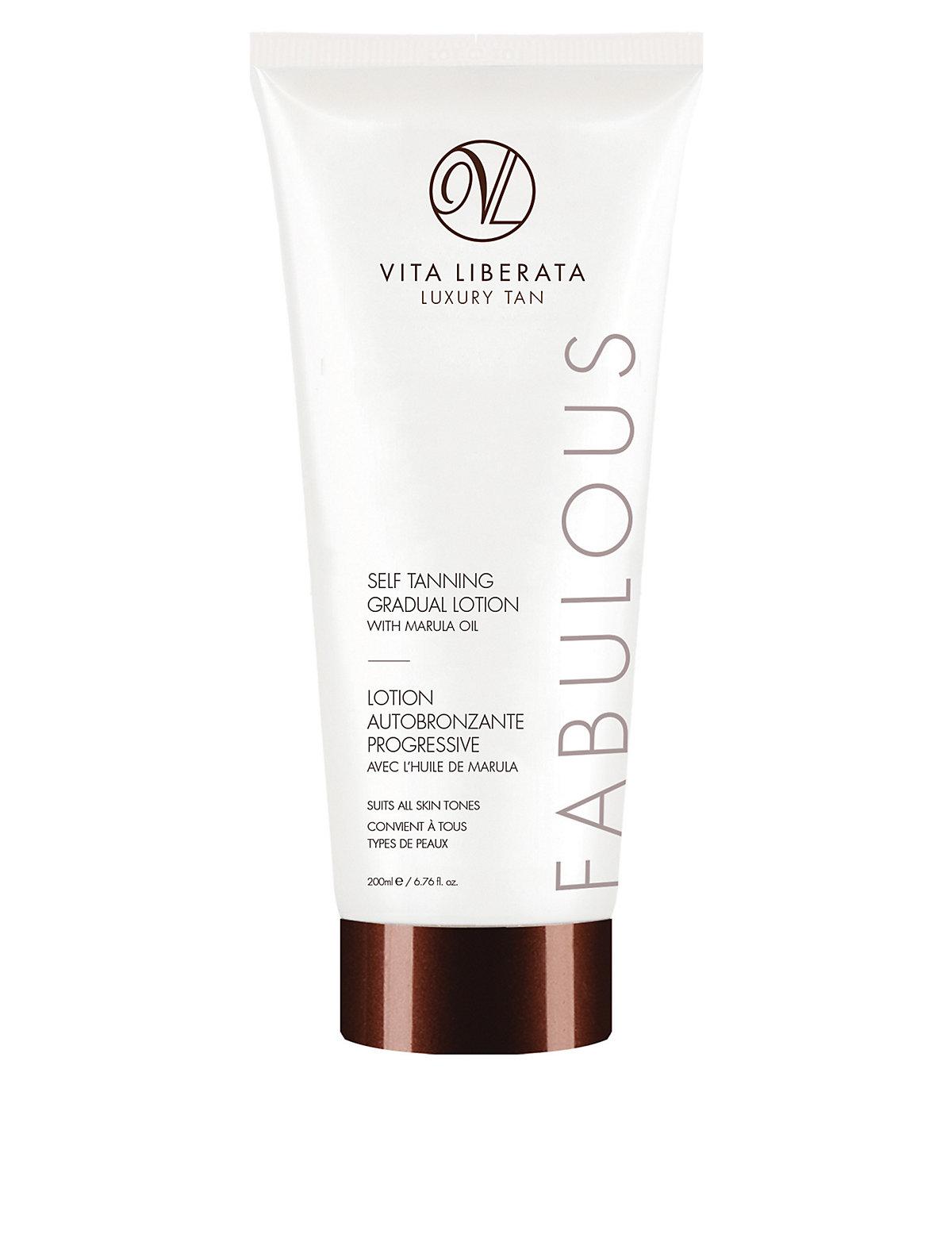 Vita Liberata Fabulous Self Tanning Gradual Lotion with Marula Oil 200ml