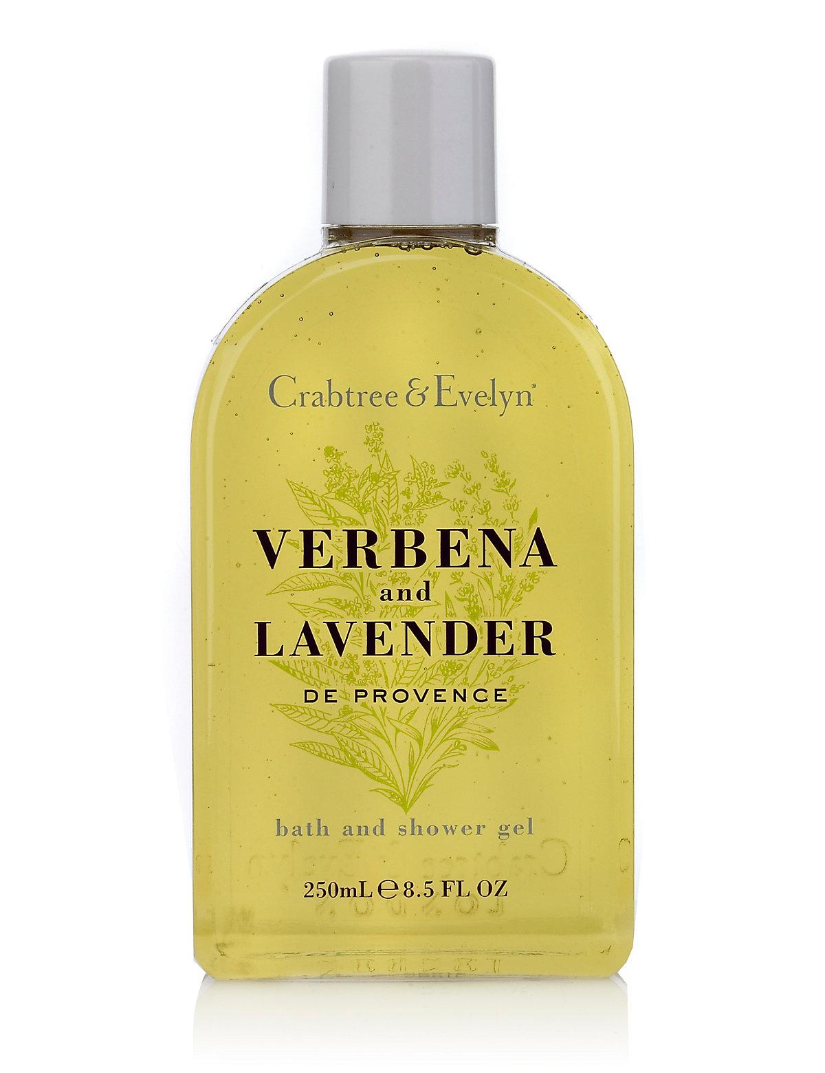 Image of Crabtree & Evelyn Verbena Lavender Shower Gel 250ml