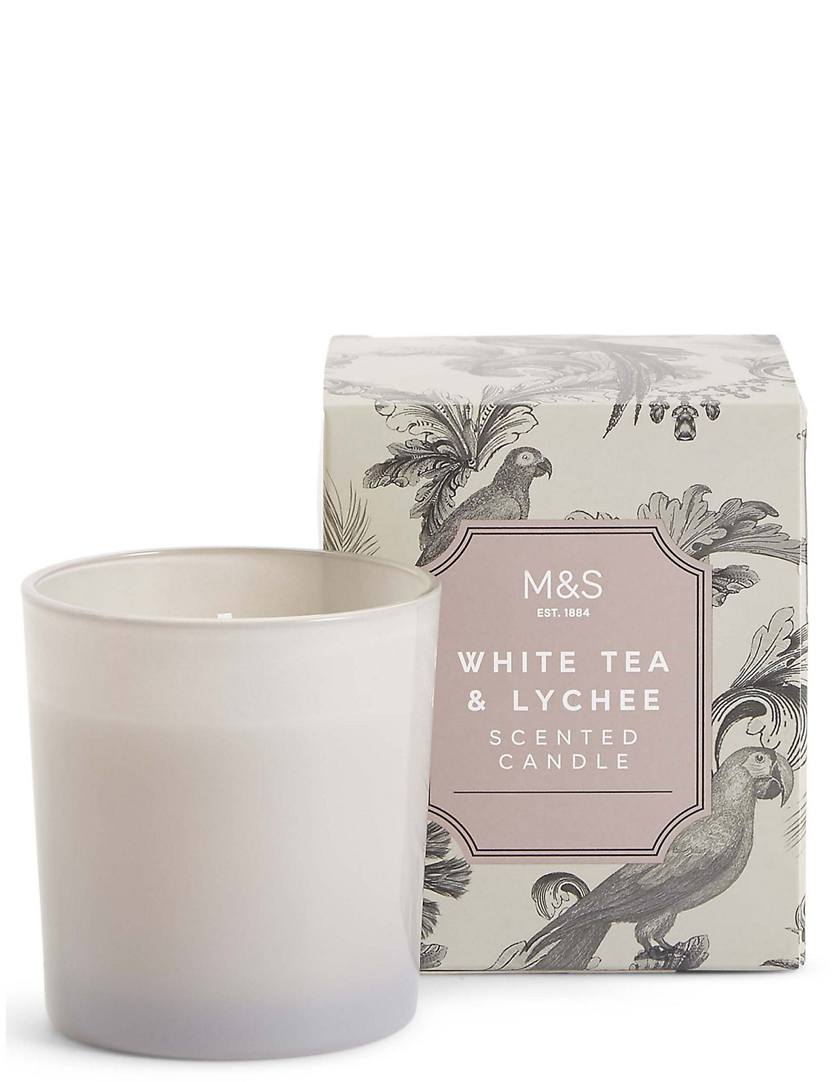 White Tea & Lychee Scented Candle