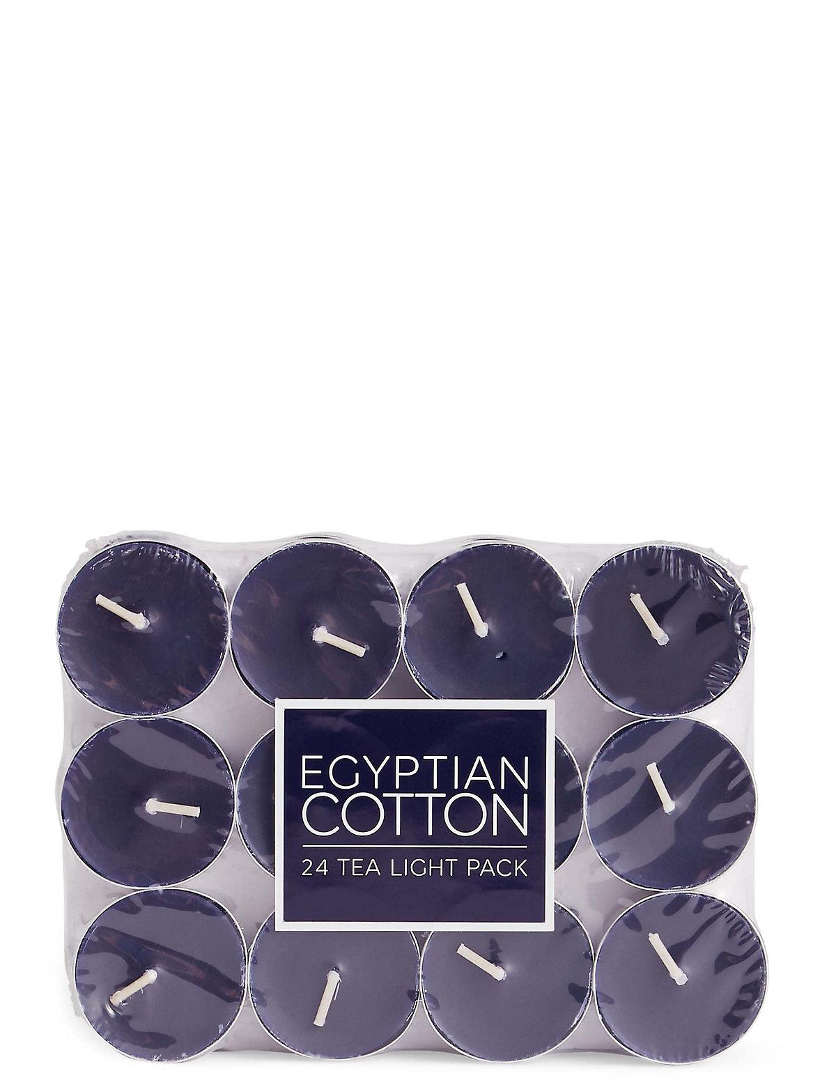 Egyptian Cotton 24 Scented Tea Lights