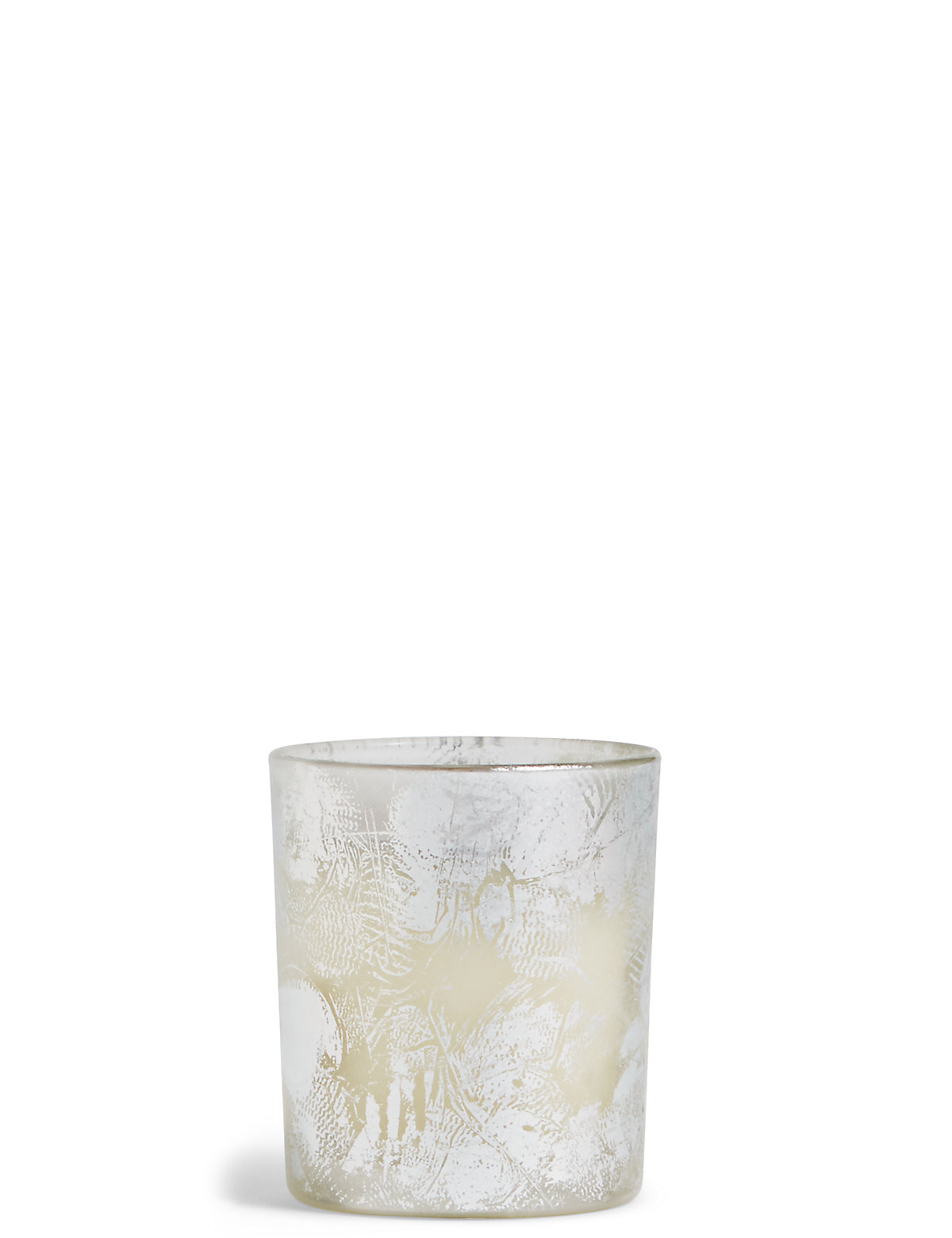 White Tea & Lychee Small Glitter Foil Candle