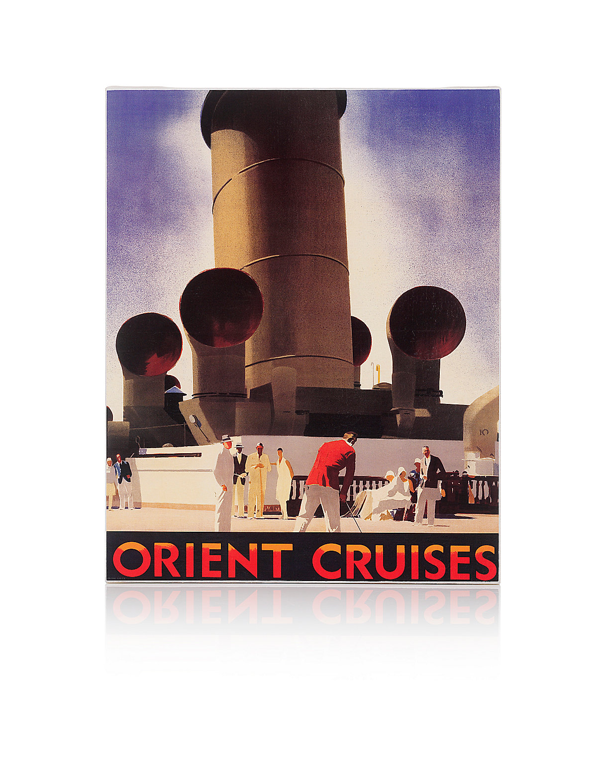 Orient Cruises Wall Art