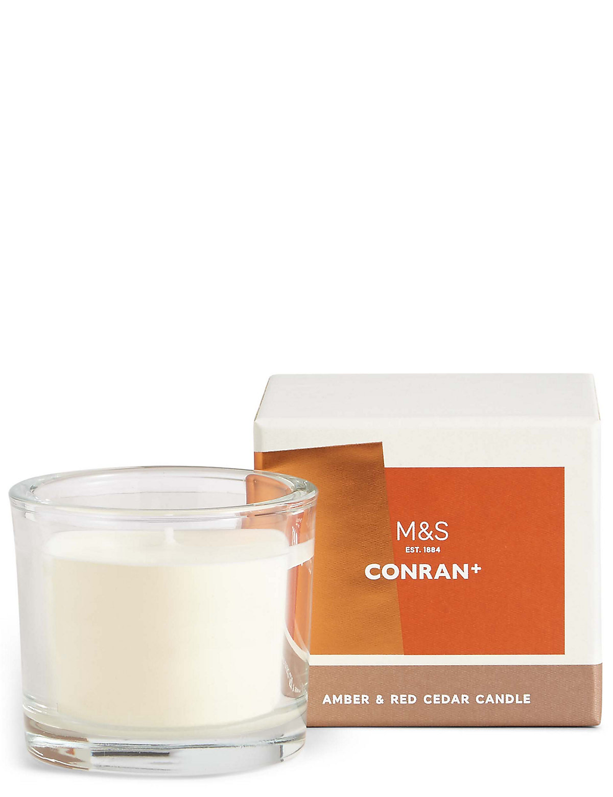 Conran Amber & Red Cedar Candle