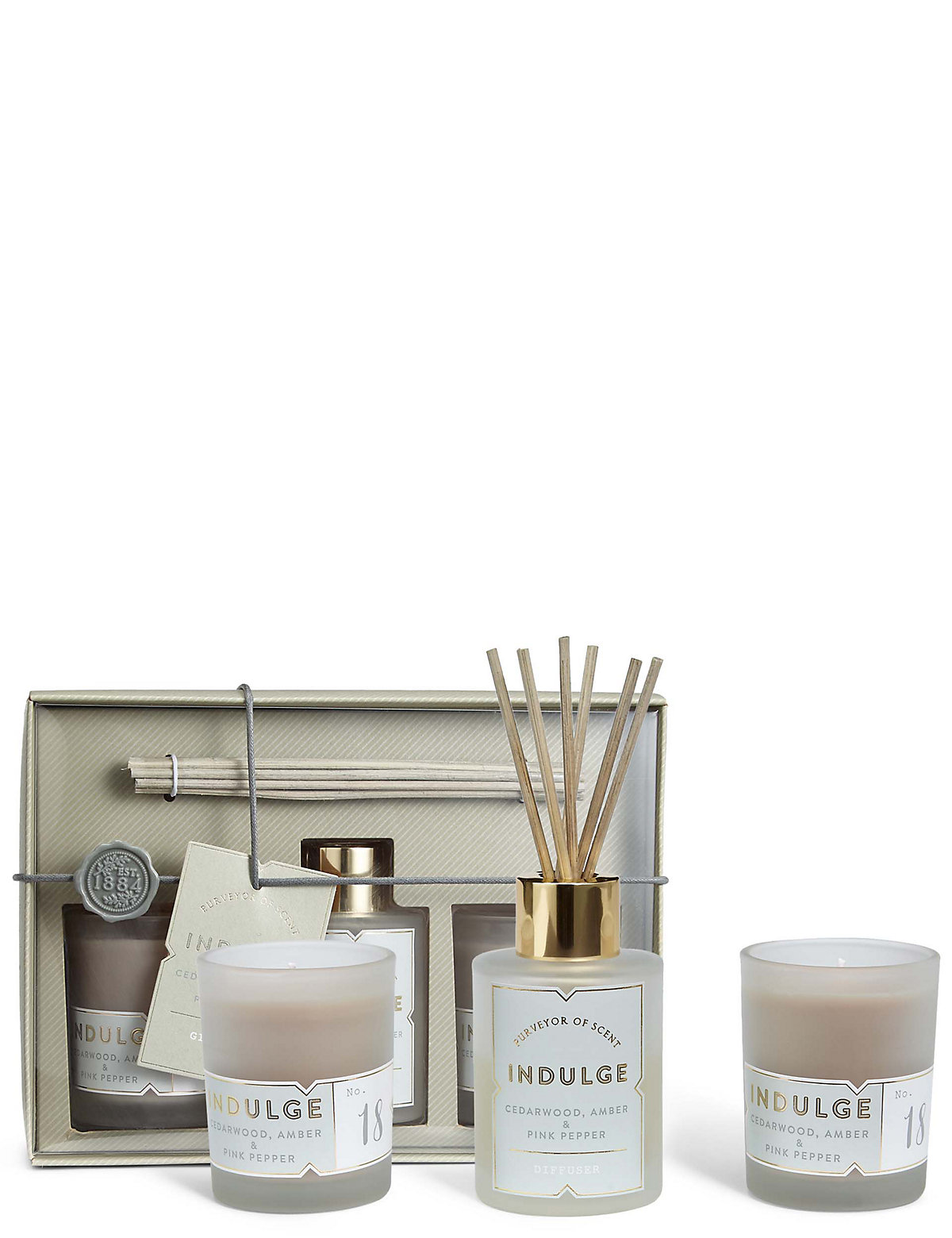 Indulge Diffuser  Candle Gift Set