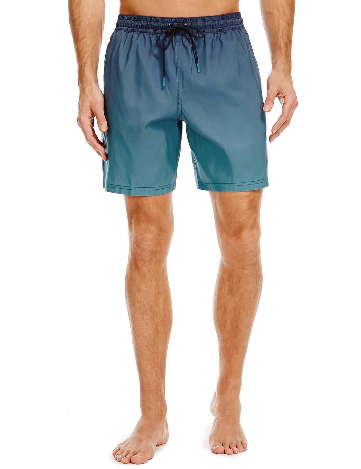 Blue Harbour Quick Dry Dip Dye Swim Shorts