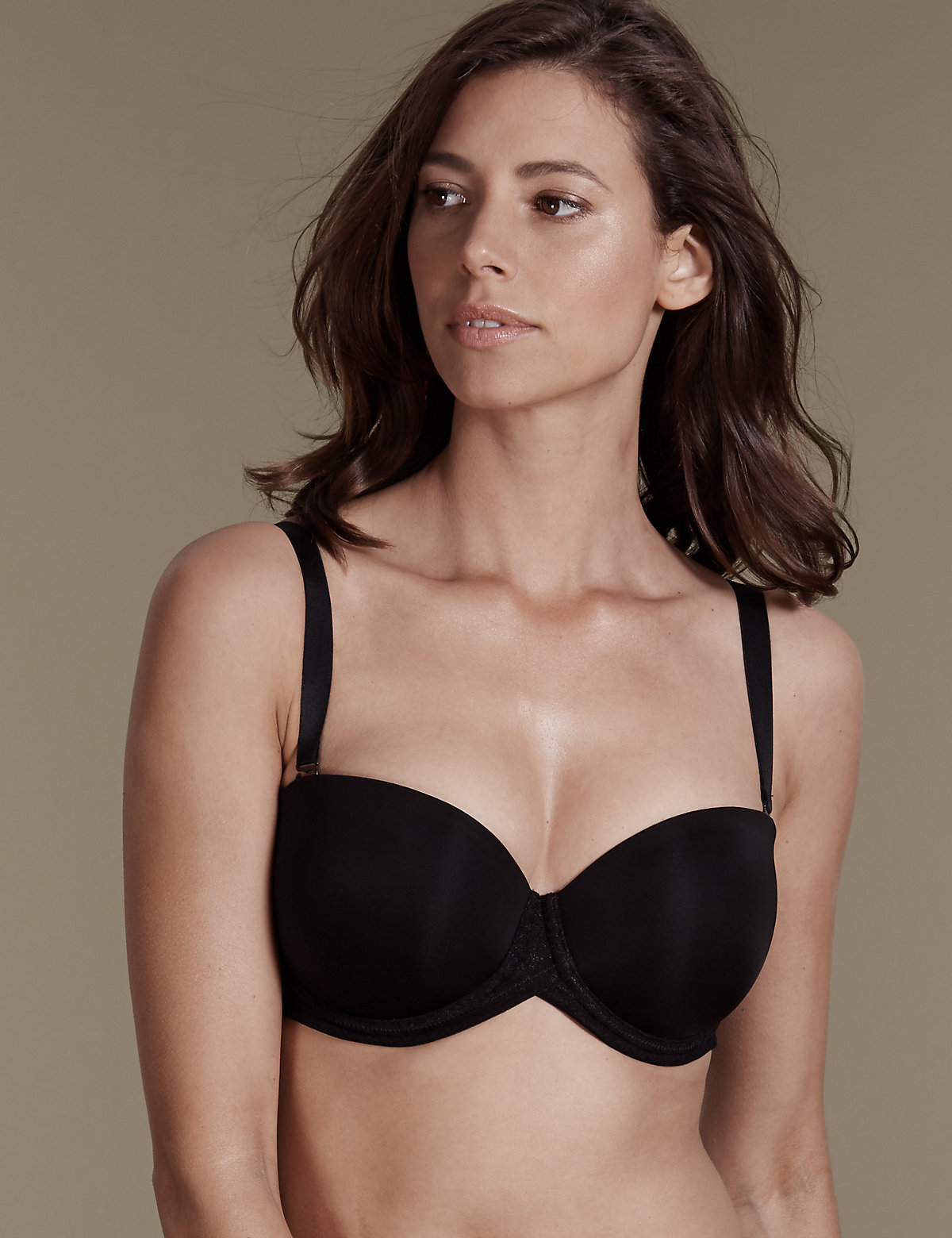 M&s Collection Smoothlines Padded Multiway Bra Dd-g