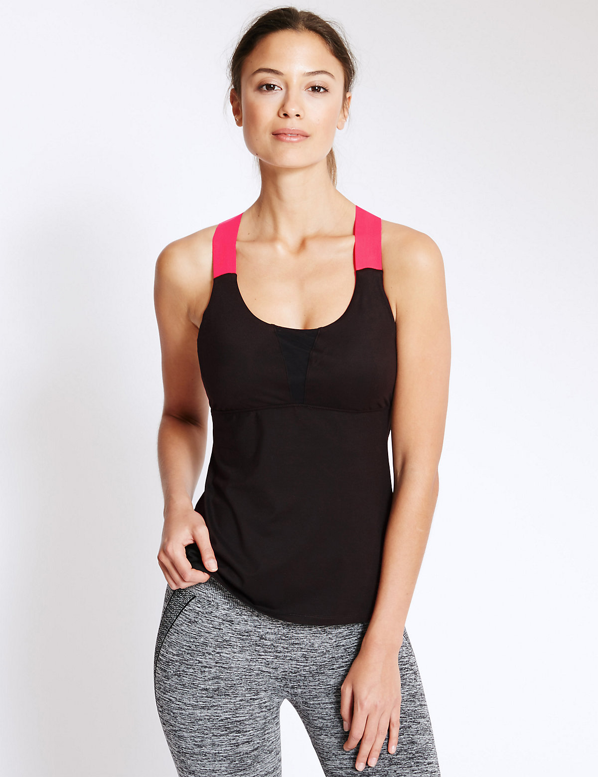 M&S Collection High Impact Padded Sports Vest