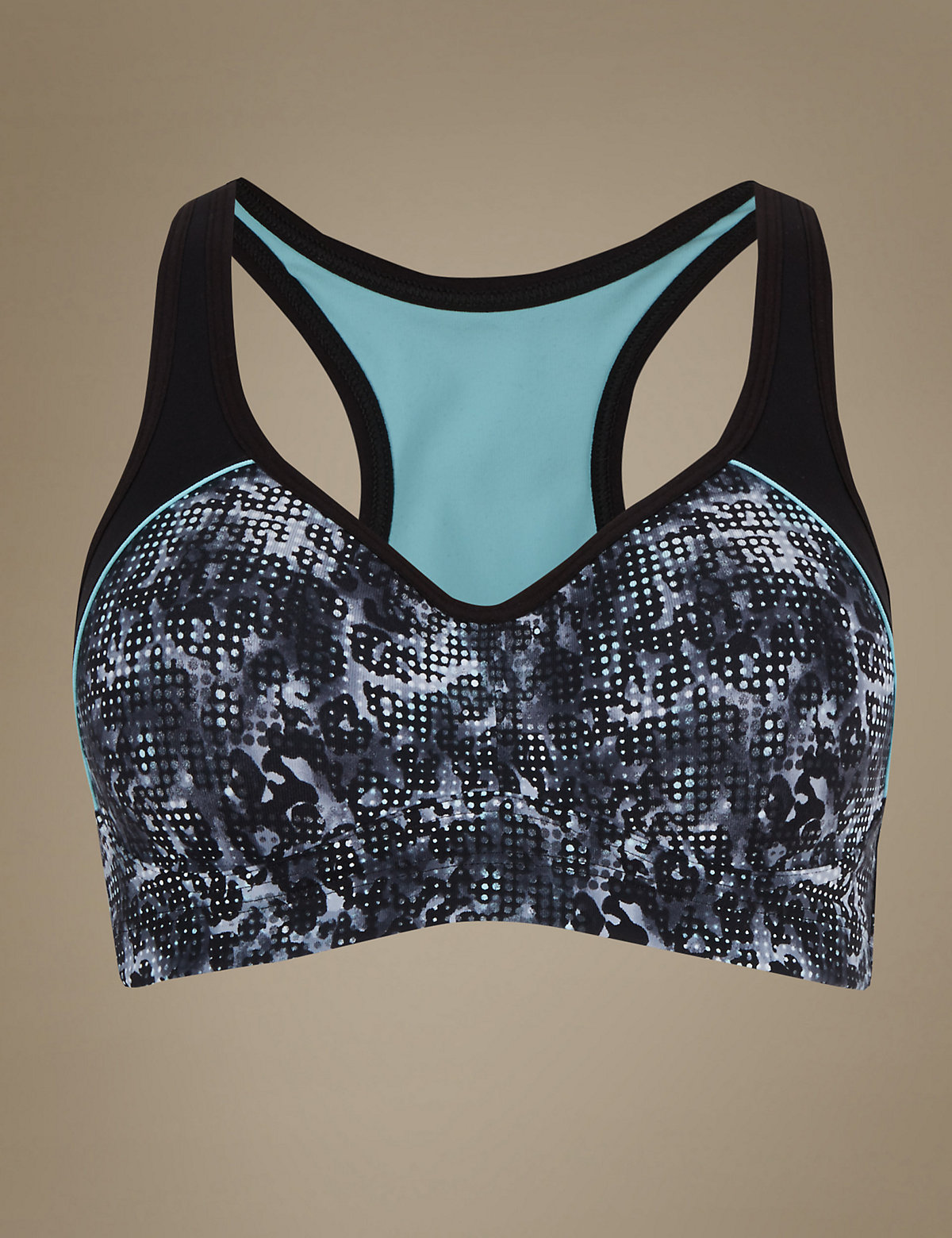M&s Collection Breathable High Impact Underwired Padded Sports Bra A-dd