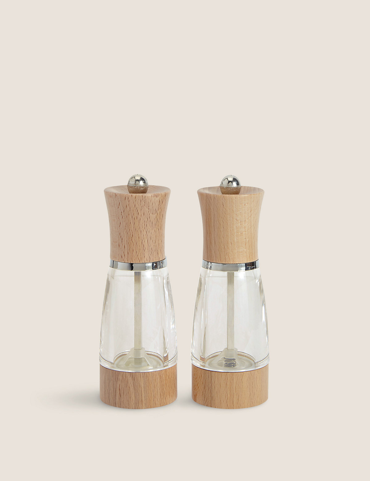 2 Warwick Salt & Pepper Mills.