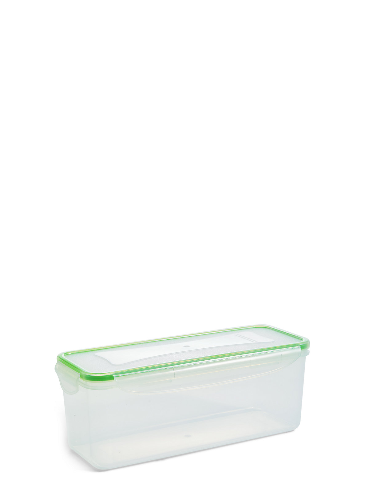 2 Litre Rectangular Clip Storage