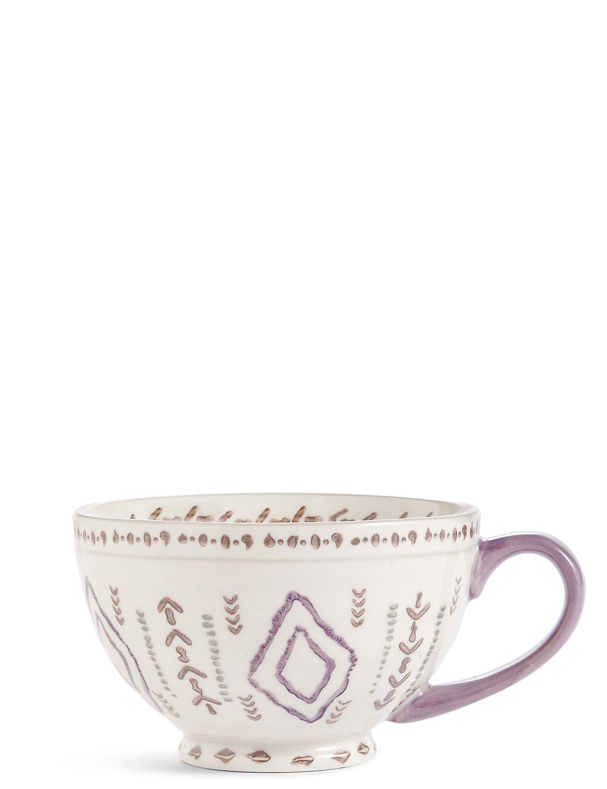 Retreat Pad Print Purple Mug
