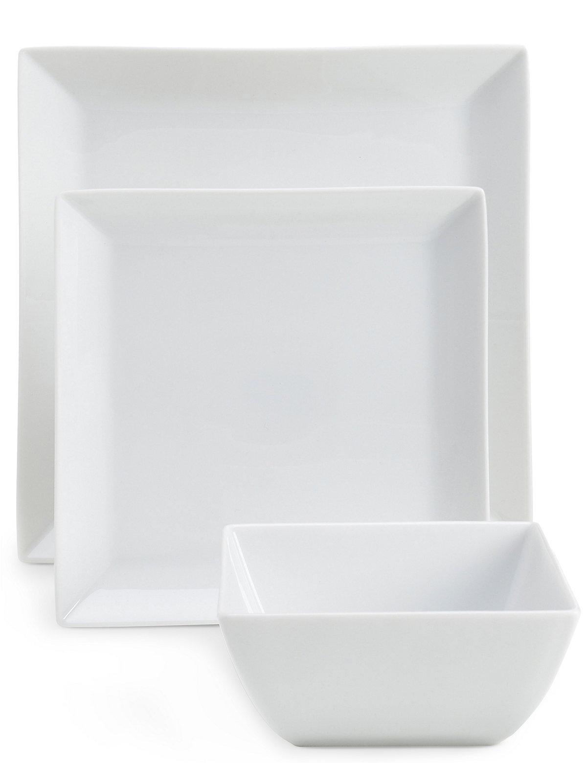 Image of 12 Piece Maxim Square Dinner Set
