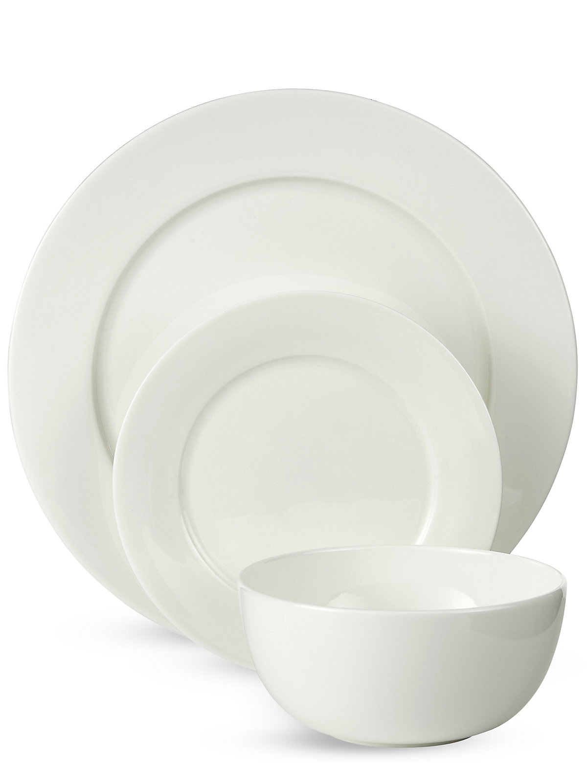 and beautiful this 12 piece dinner set is made from fine bone china