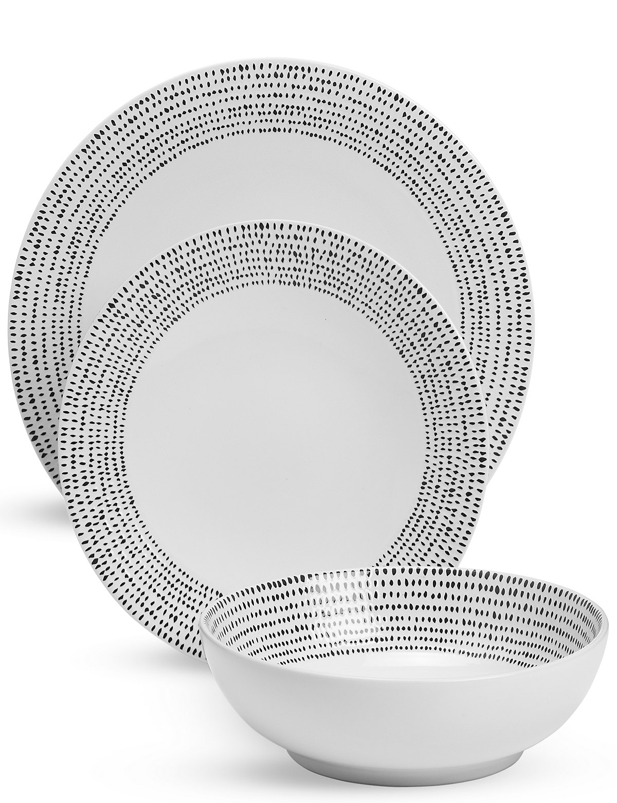 Image of 12 Piece Lombard Dinner Set