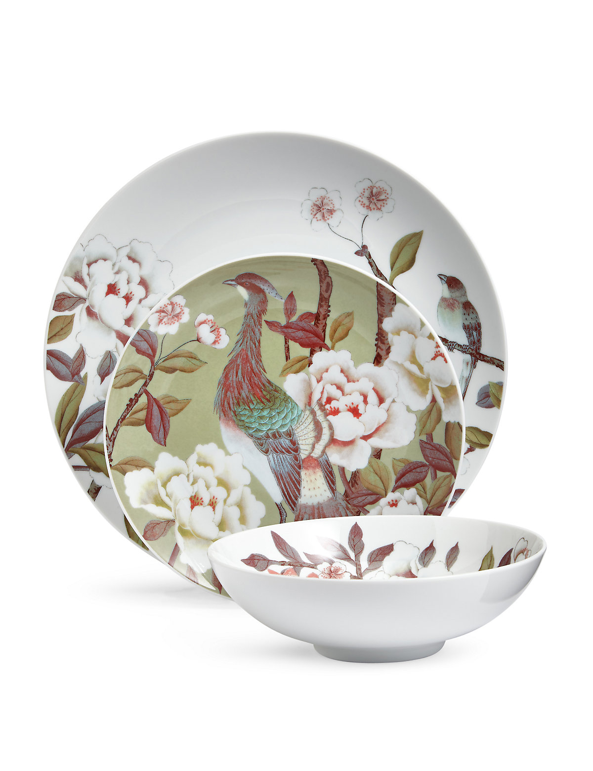 Image of 12 Piece Ophelia Dinner Set
