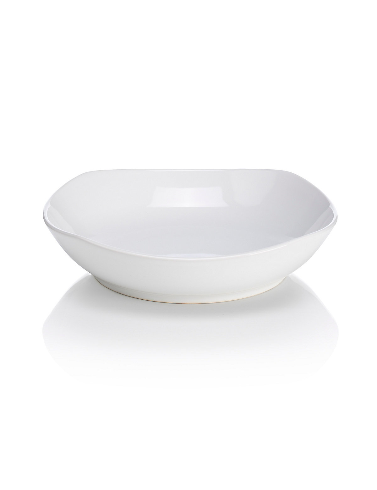 Crockery Andante Square Pasta Bowl White