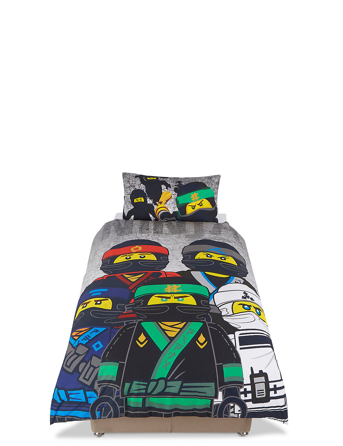 Ninjago Lego Bedding Set.