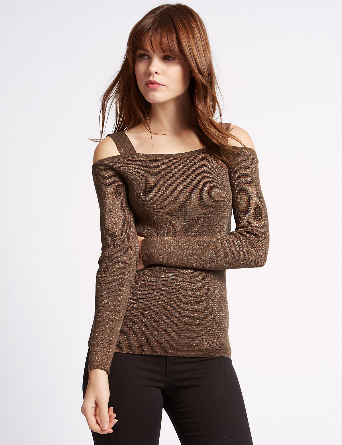 Limited Edition Cold Shoulder Jumper