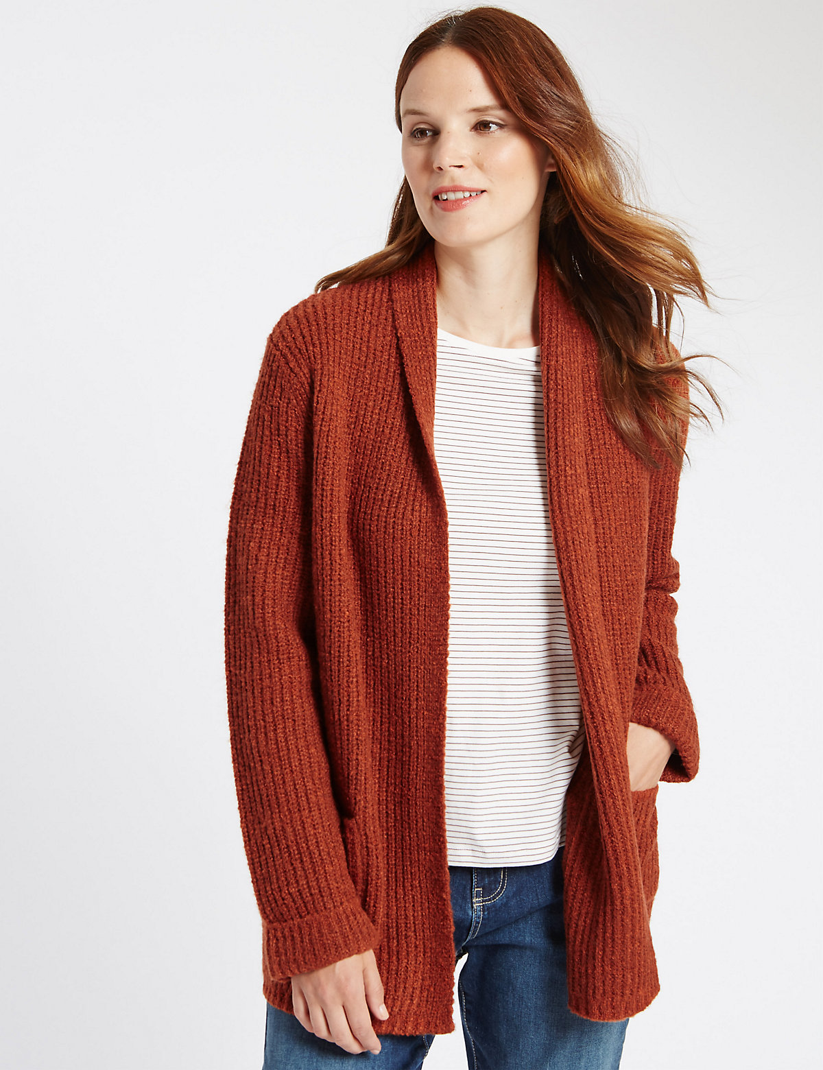 Classic Boucle 2 Pocket Cardigan