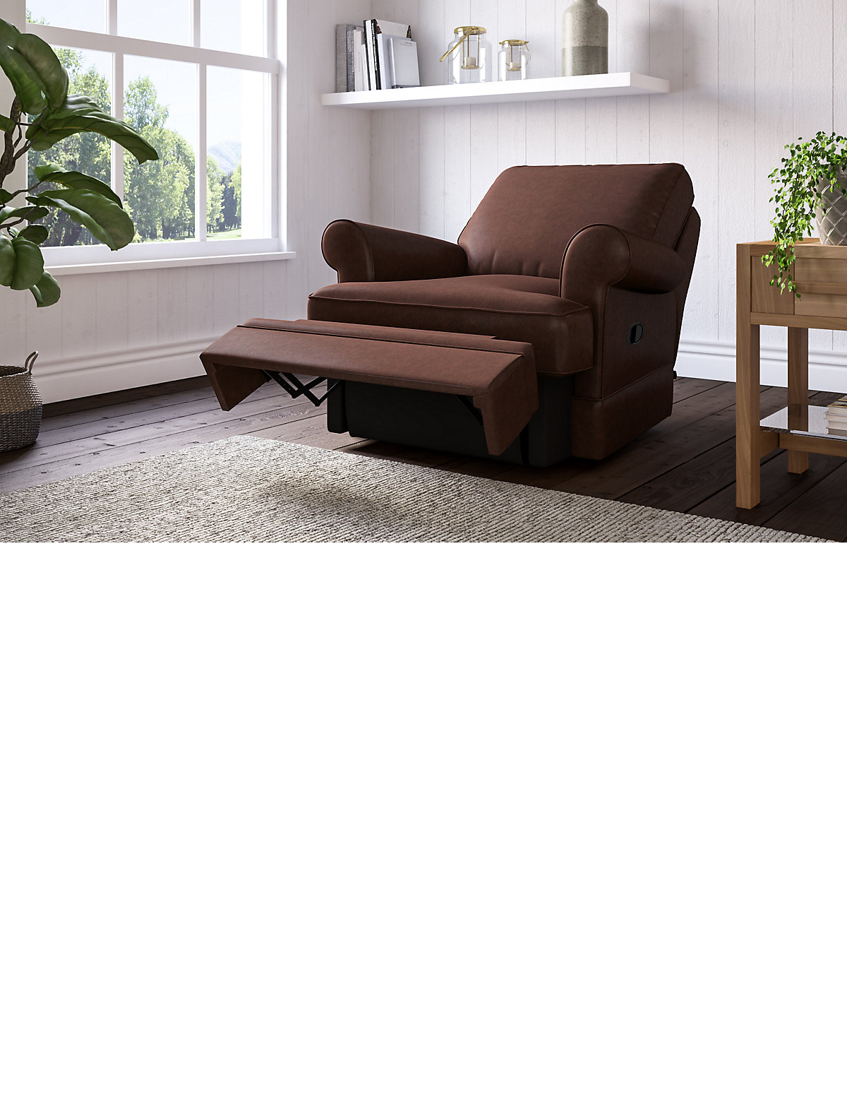 Berkeley Chair Recliner (Manual) at Marks and Spencer Online