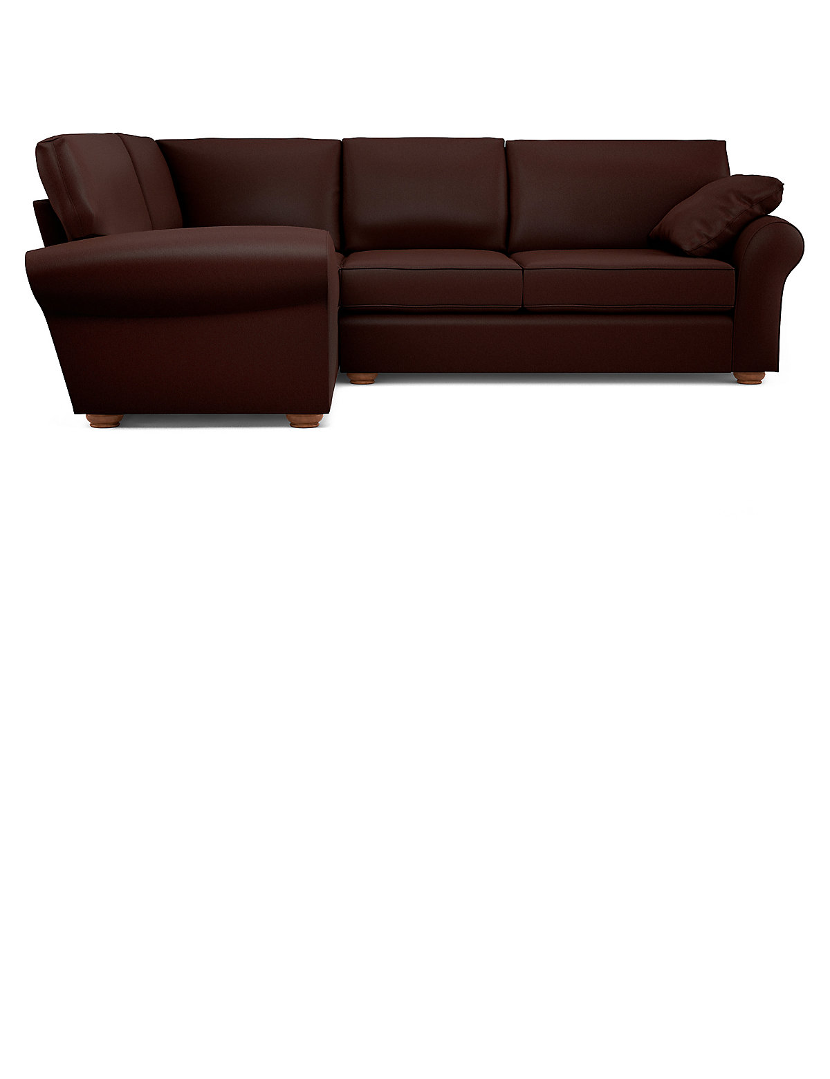 Marks and spencer ramsden small corner sofa left hand Low corner sofa