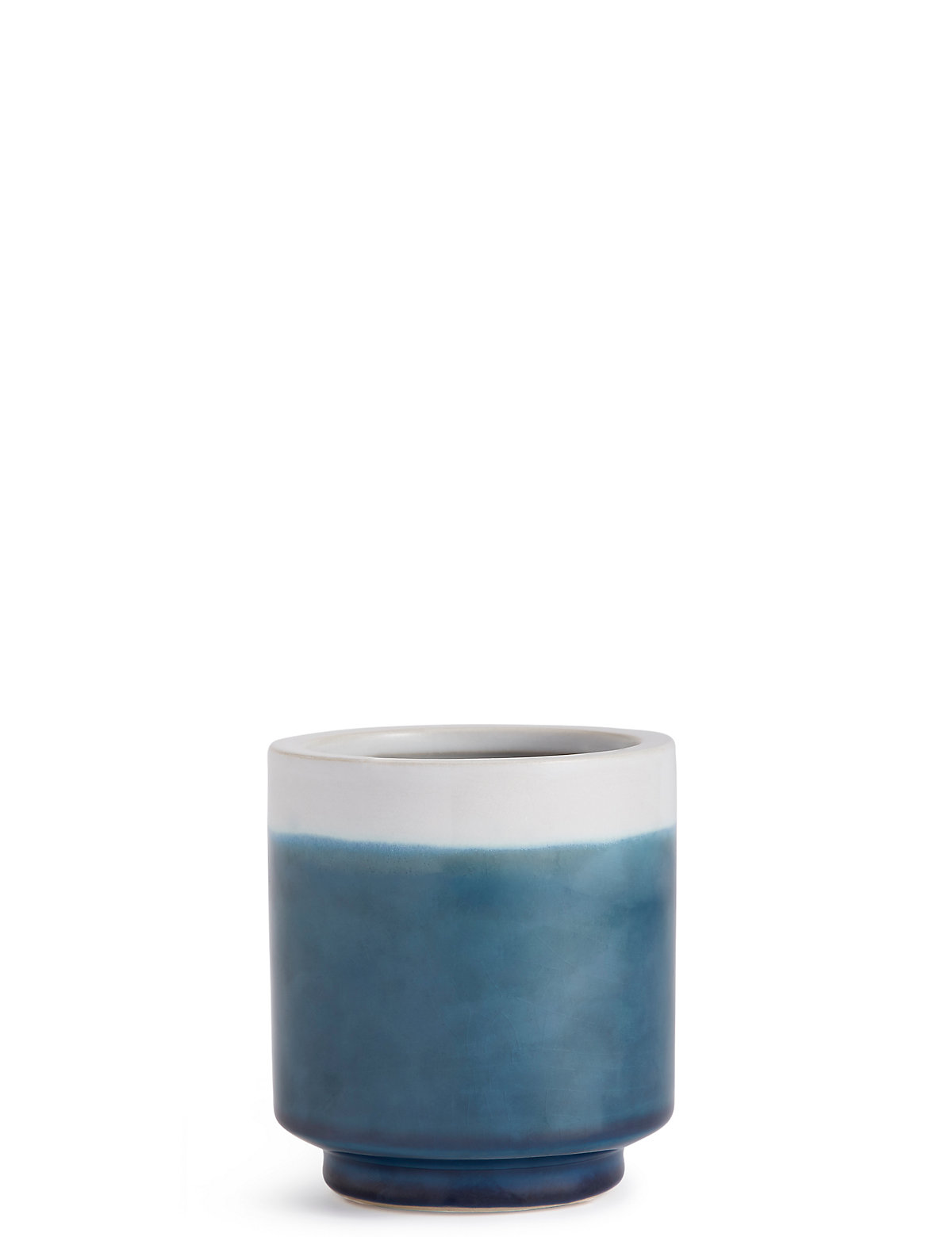 Image of 11cm Small Blue Reactive Planter