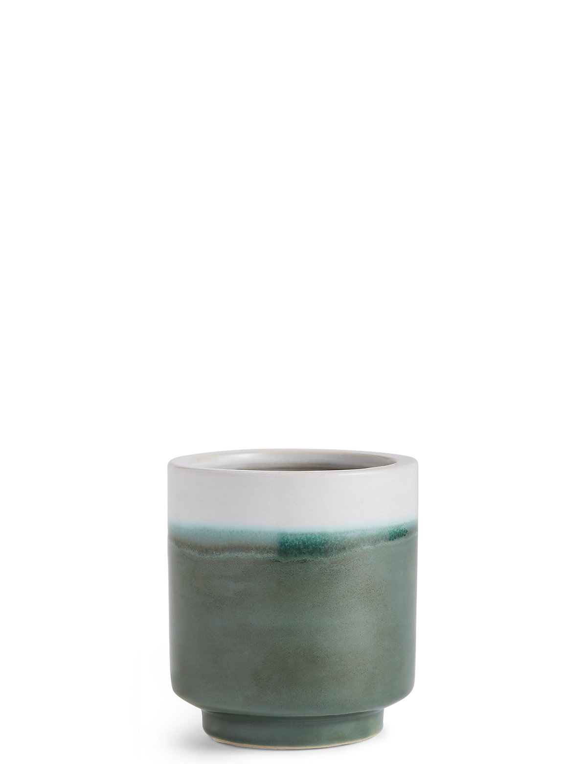 Image of 11cm Small Green Reactive Planter