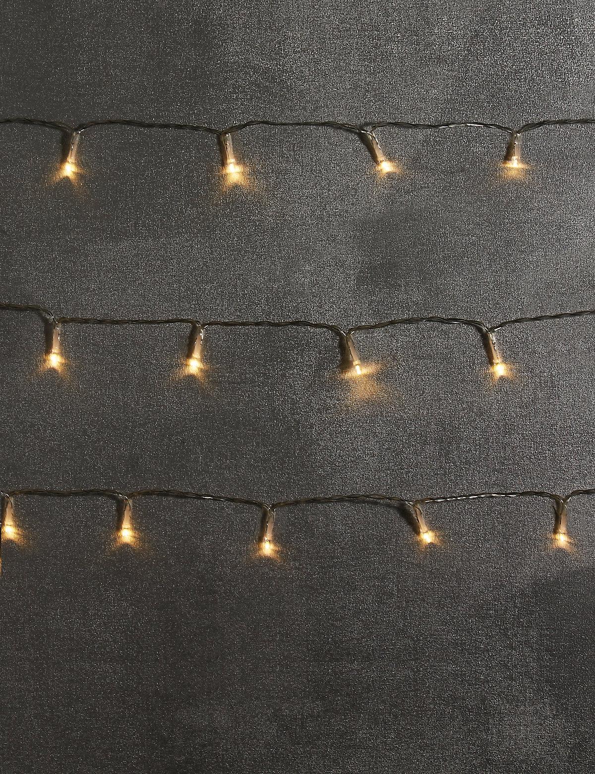 20 Warm White LED Lights