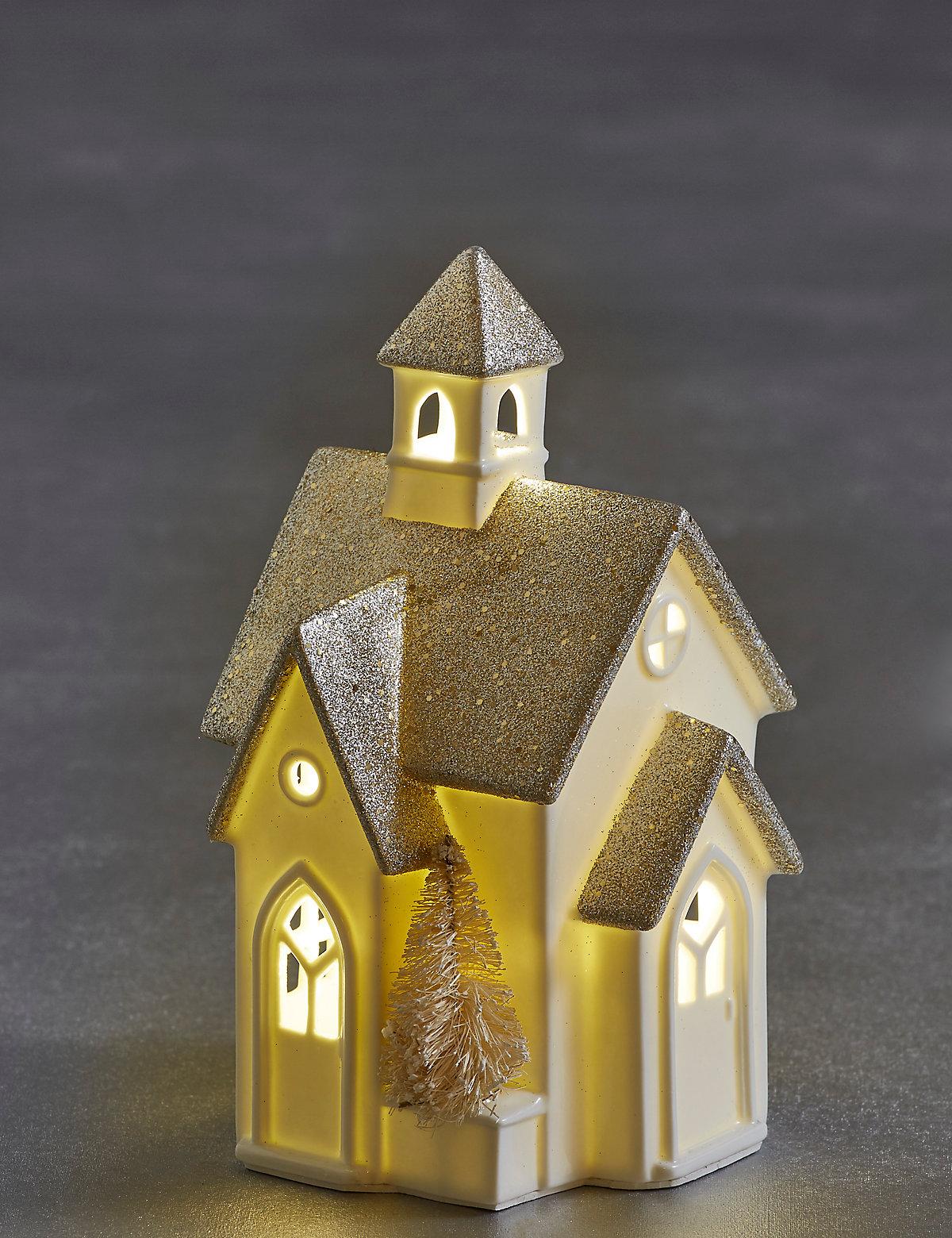Glitter Light-up Church