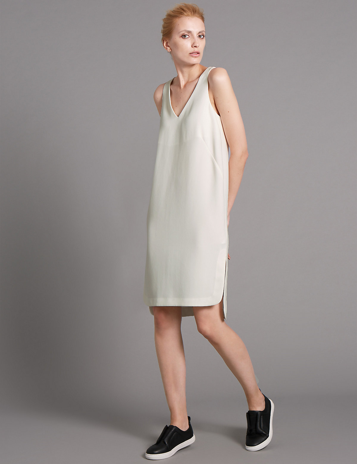 Autograph Lined Sleeveless Tunic Dress