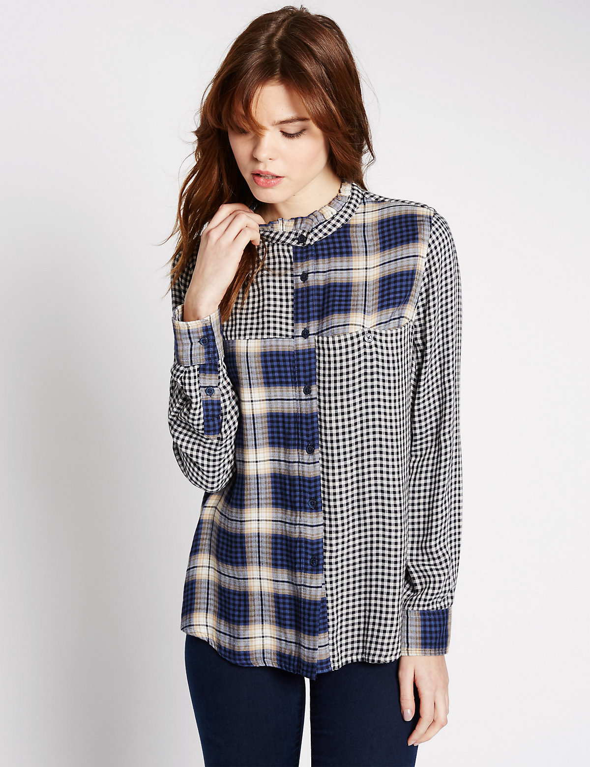 Limited Edition Checked Long Sleeve Shirt