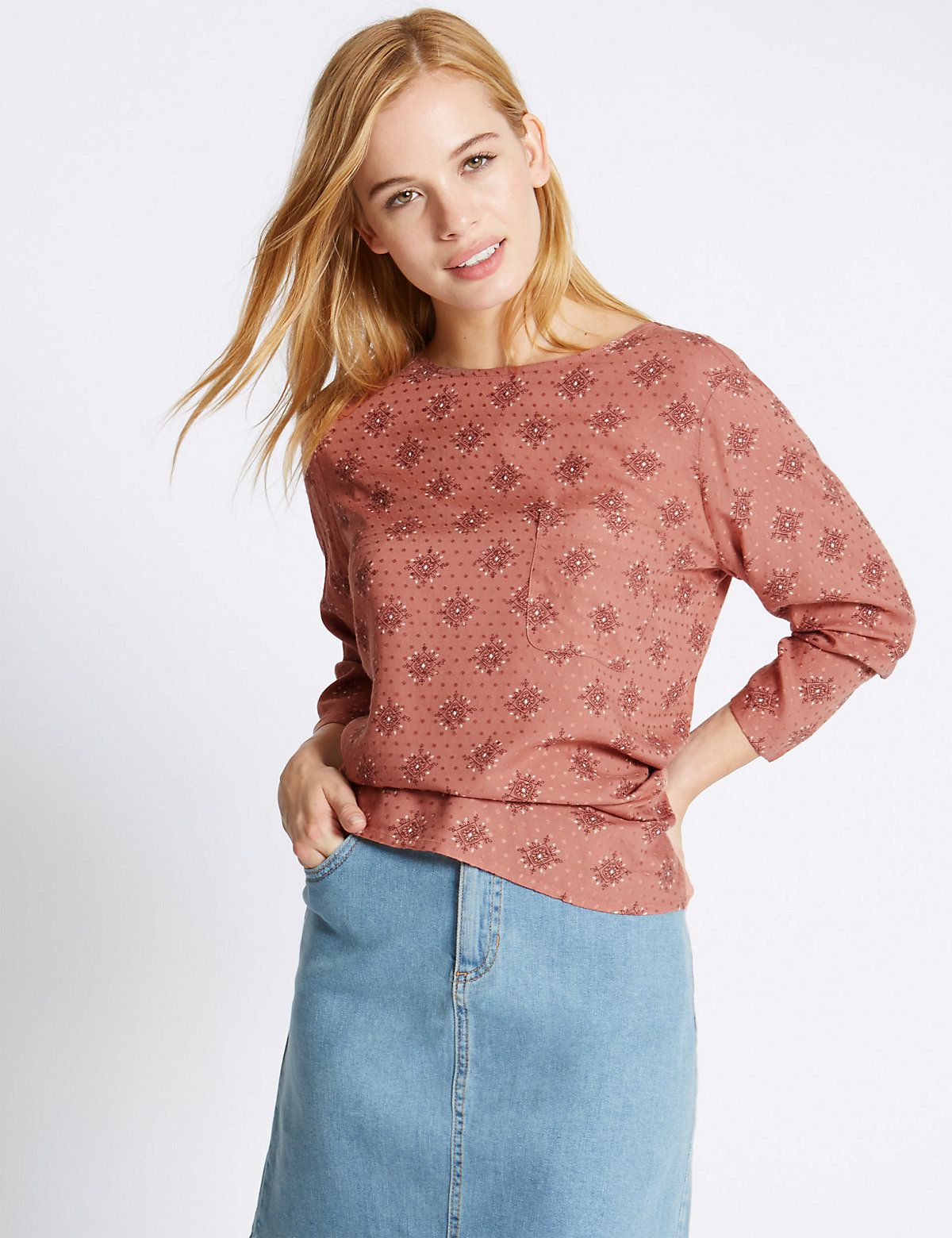 M&S Collection PETITE Shell Top