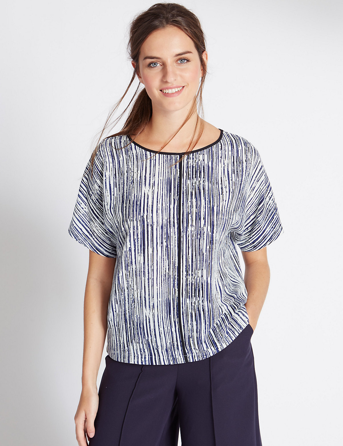 M&S Collection Short Sleeve Shell Top