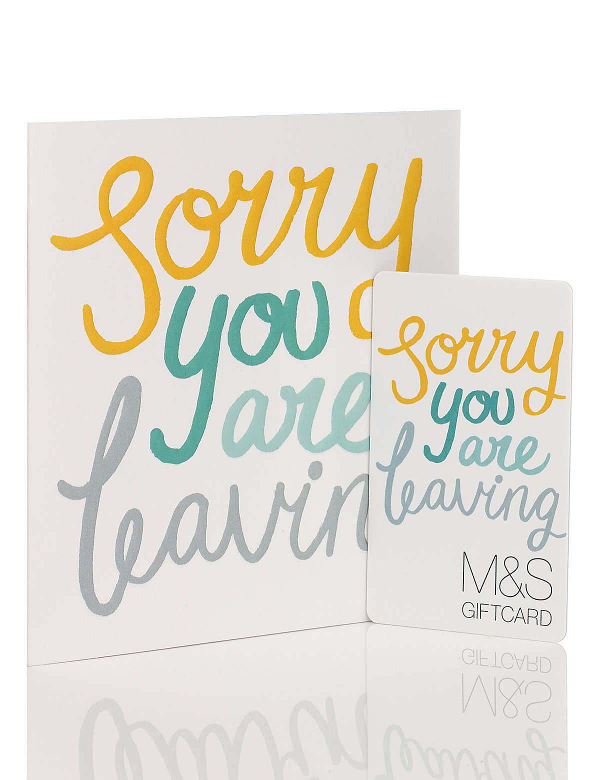 Sorry Youre Leaving Gift Card £1500