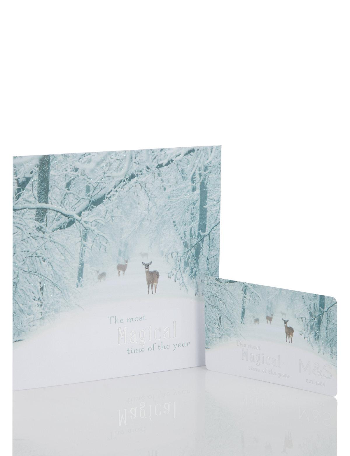 Flitter Forest Scene Gift Card £1000