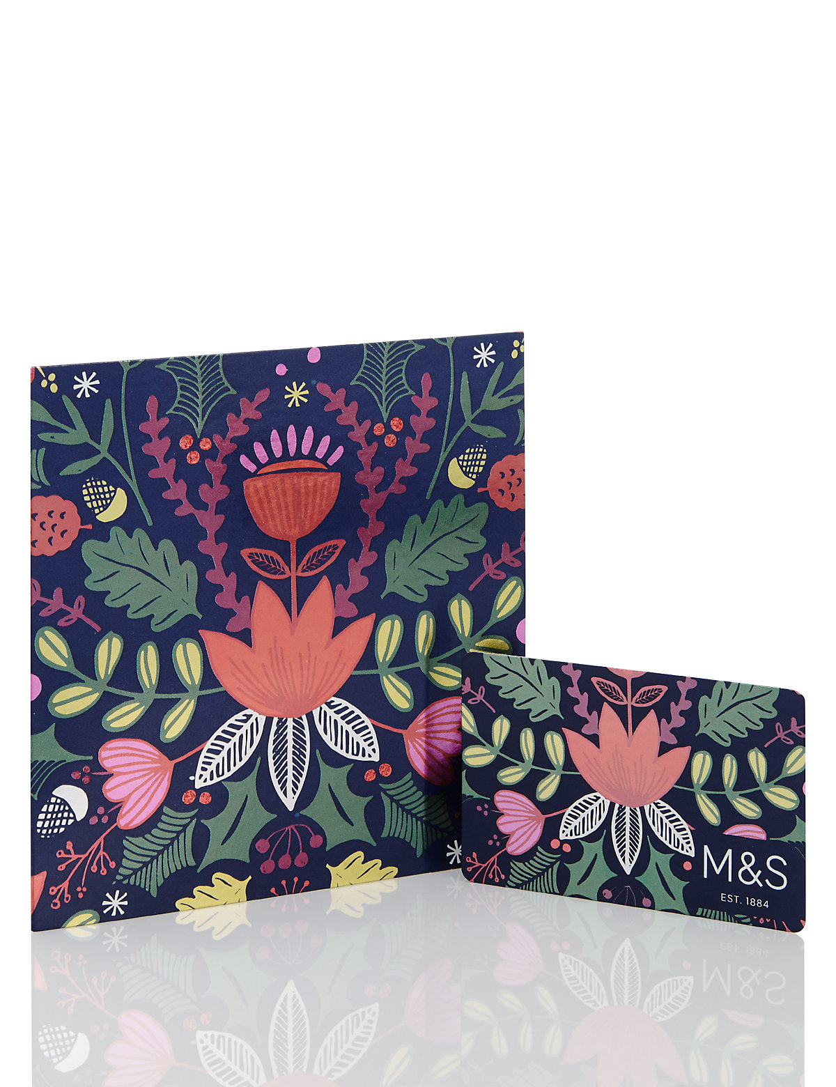 Foiled Floral Gift Card £1500