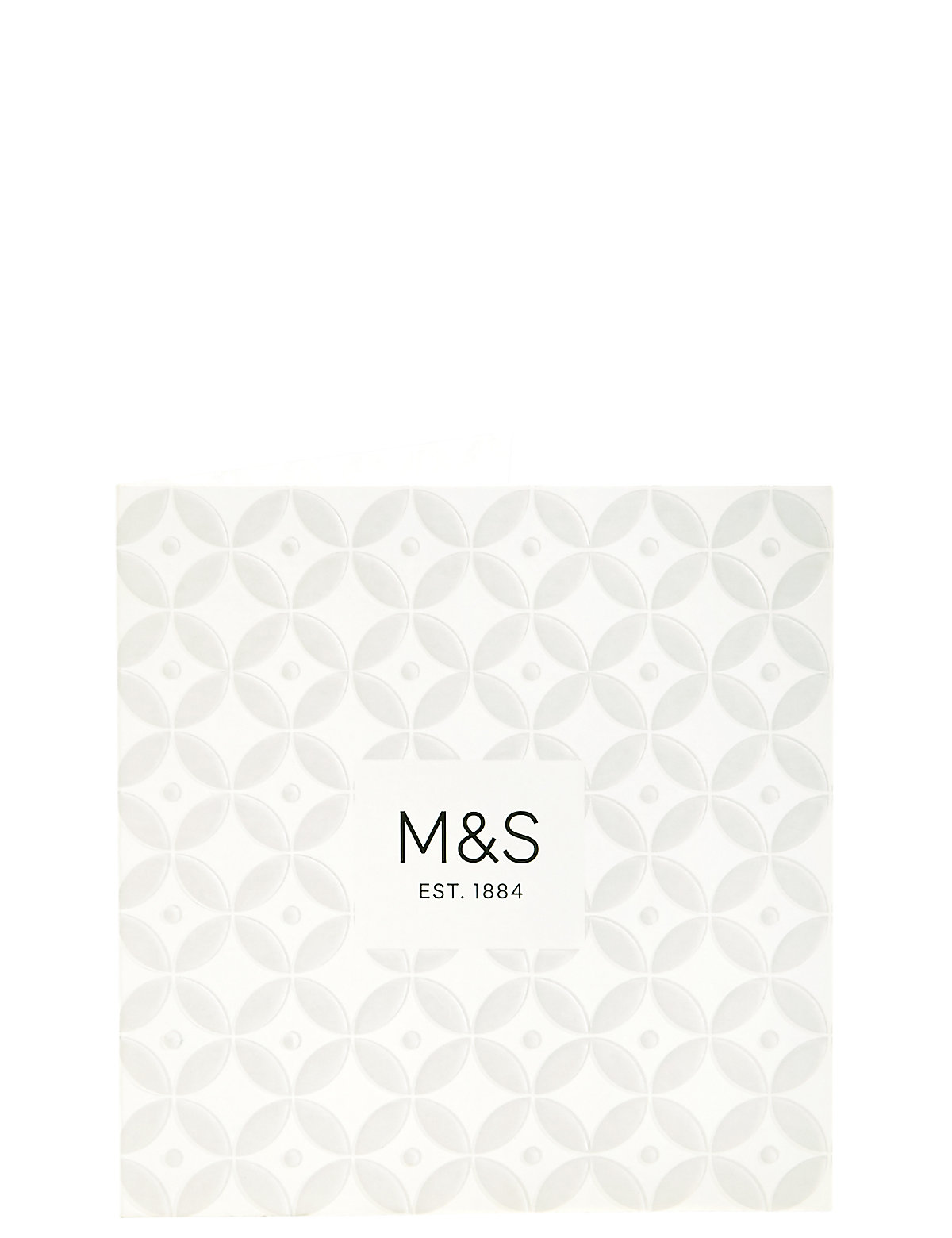 White Embossed Gift Card