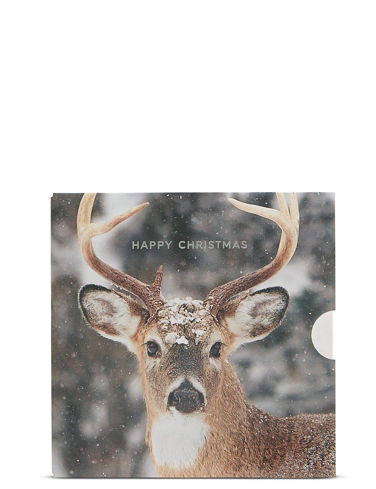Christmas Stag Gift Card
