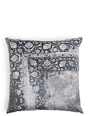Vintage Corner Print Cushion