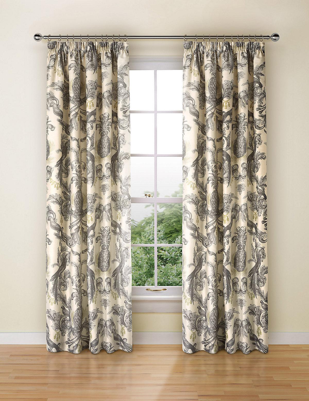 Otis Parrot Print Curtains