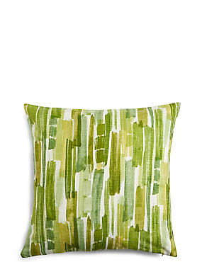 Abstract Striped Cushion