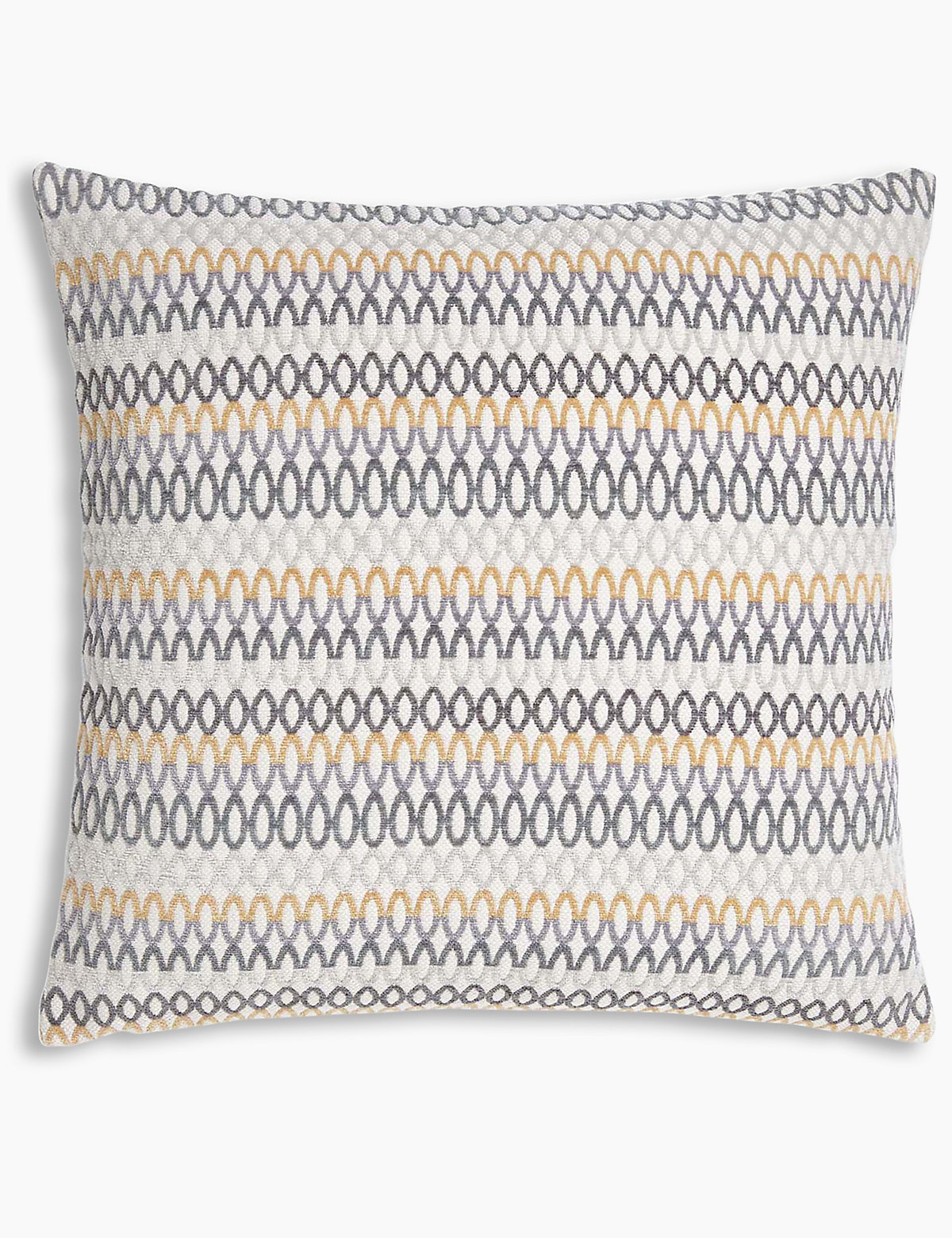 Geo Chenille Cushion.